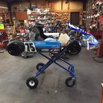 KARTSALE - 2008 KOSMIC TAG KART TOUCH AND GO ROAD RACE KART